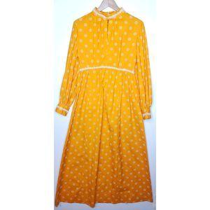 VTG 70's Daisy Prairie Cottagecore Maxi Dress